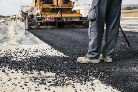 asphalting: Road Construction