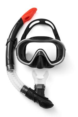 シュノーケルとダイビングのマスク