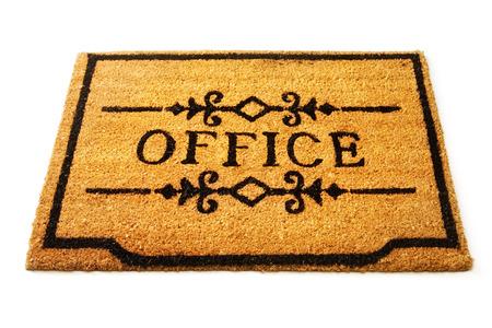 straw mat: Office welcome mat