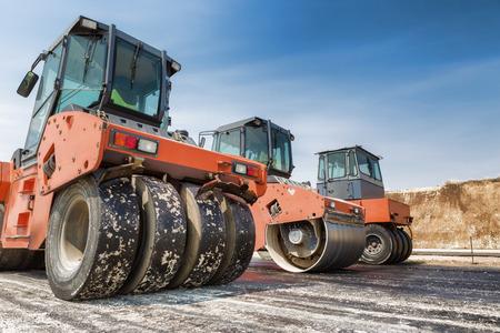 heavy machinery: Construcci�n de carreteras