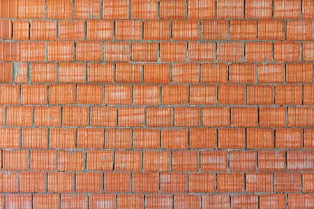 ocas: Arcilla Hollow fondo de la pared de bloques