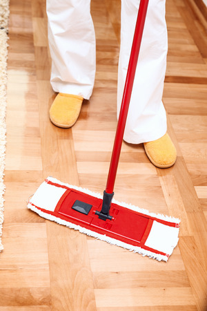 light duty: House cleaning Mopping hardwood floor