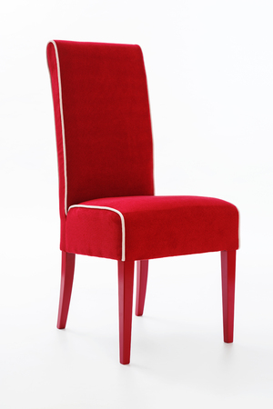 modern chair: Home furniture chair on white background
