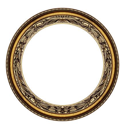 Marco del círculo de madera