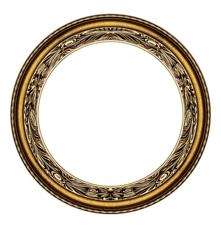 ovoid: Wooden circle frame