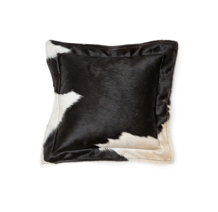 cowhide: Cowhide pillow Stock Photo