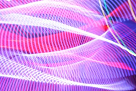 exposicion: Luces de la exposici�n a largo Foto de archivo