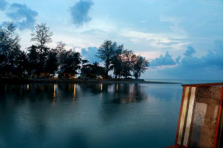 thailand view: Sun set view