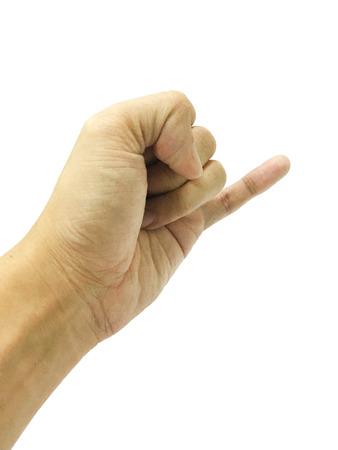 little finger: little finger