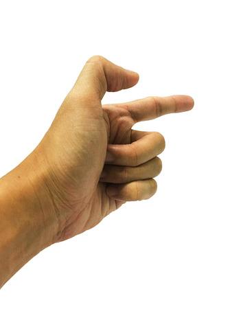 index finger: index finger