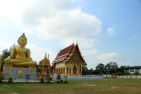 buddha image: Buddha image and temple