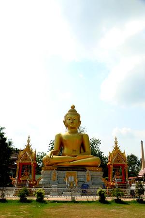 buddha image: landmark of Buddha image Stock Photo