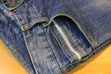 clothes organizer: Jeans trousers
