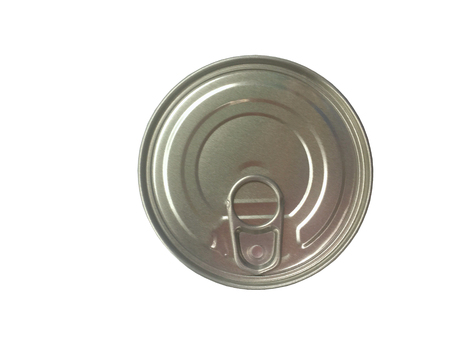 conserved: Can of conserved food on the white background, Plastic can food