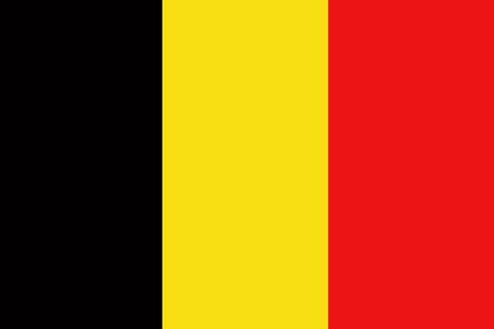belgium flag: Belgium flag ,original and simple Belgium flag Stock Photo
