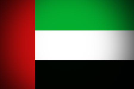 United Arab Emirates flag ,original and simple United Arab Emirates flag,UAE Stock fotó