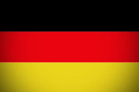 Germany flag ,Germany national flag illustration symbol. Stock Photo