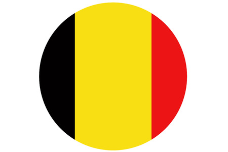Belgium flag ,original and simple Belgium flag.Nation flag Stock Photo