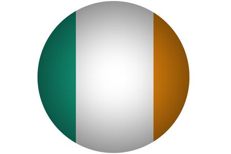 ireland flag: 3D Ireland flag