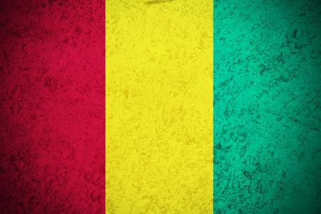 guinea: Guinea flag ,Guinea national flag illustration symbol. Stock Photo