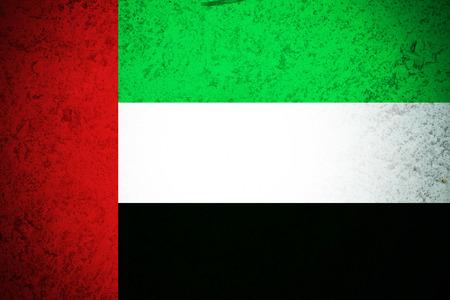 United Arab Emirates flag.original and simple United Arab Emirates Stock fotó