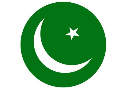 Pakistan flag ,3D Pakistan national flag illustration symbol.