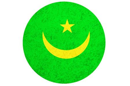 mauritania: Mauritania flag ,3D Mauritania national flag illustration symbol.