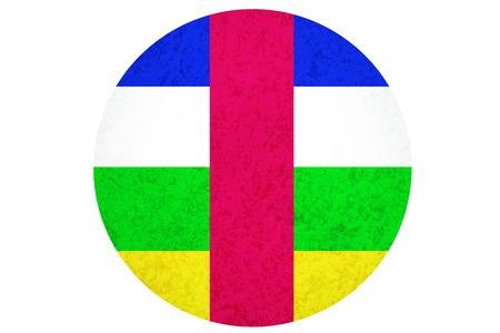 Central African Republic flag ,3D Central African flag illustration symbol. Stock Photo
