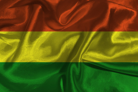 bandera de bolivia: Bolivia flag ,Bolivia national flag 3D illustration symbol.