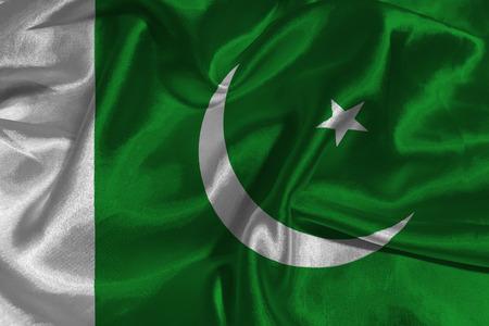 parliament: Pakistan national flag 3D illustration symbol