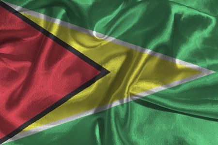 cooperativismo: República Cooperativa de Guyana de la bandera nacional de ilustración 3D símbolo.