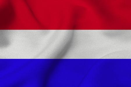 netherlands flag: Netherlands flag ,Netherlands national flag 3D illustration symbol