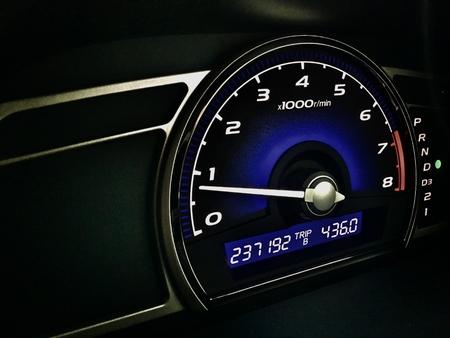 Mileage car , dashboard