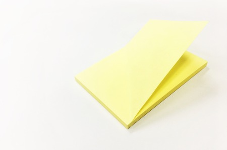 Post it on the white background Stock Photo