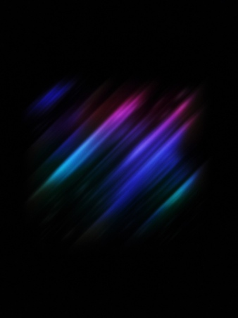 Blurred of multi colored effect on the black color background-Abstract colorful background.