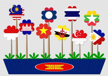 asean: The Association of Southeast Asian Nations is a political and economic organization of ten countries located in Southeast Asia