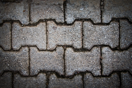 Concrete Blocks Paving pedestrian  photo