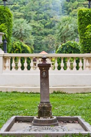 Ancient Decorative Garden Faucet Stock Photo   22699309