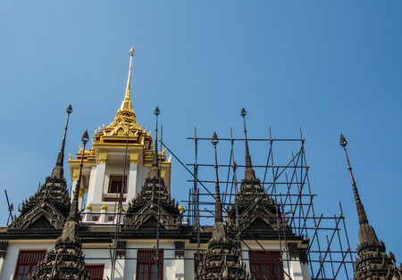 reconstruct: Metal Castle is a repository of buddha relics. This place is popular landmark of traveller.