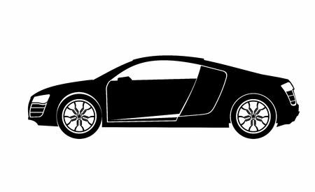 Super Car Royalty Free Cliparts Vectors And Stock Illustration - Audi car vector