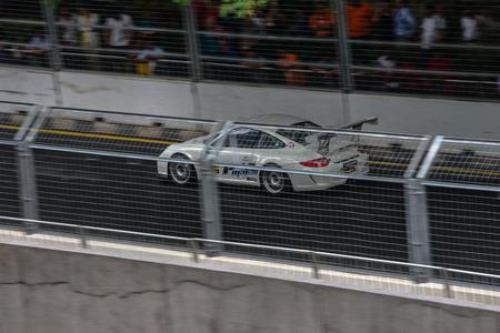 chequer: Motor racing event held on the Kuala Lumpur Street Circuit in Kuala Lumpur, Malaysia.