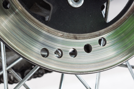 disc: Disc brake of motorcycle