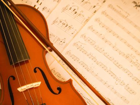 stradivarius: Violin with music note