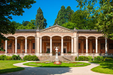Pump Room with Corinthian columns in Baden Baden