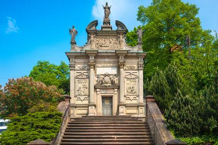 hermitage: The hermitage in Rastatt, Black Forest, Baden-Wuerttemberg, Germany, Europe