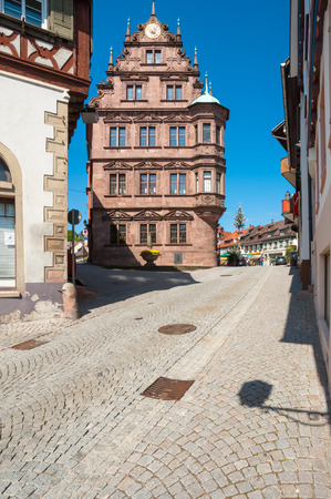 black forest: The old town hall in Gernsbach, Black Forest, Baden-Wuerttemberg, Germany, Europe