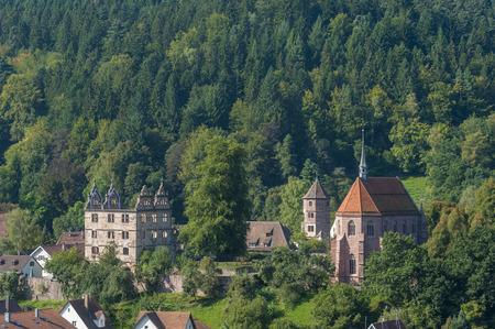 abbeys: Kloster Hirsau with Marienkapelle, Hirsau, Black Forest, Baden-Wrttemberg, Germany, Europe