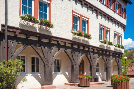town halls: The Old Town Hall in Wildberg, Black Forest, Baden-Wuerttemberg, Germany, Europe