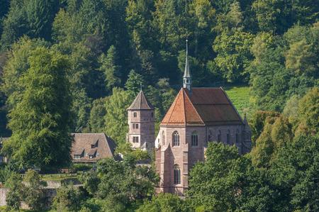 Kloster Hirsau with Marienkapelle, Hirsau, Black Forest, Baden-Wrttemberg, Germany, Europe