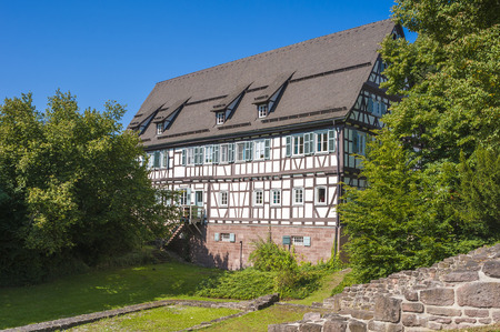 abbeys: The Amtsschreiberei in the historical monastery Hirsau in the Black Forest, Baden-Wurttemberg, Germany, Europe Stock Photo